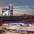 Hockey At The Ballpark by David Rucker