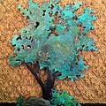 Hokkidachi Copper Bonsai by Vanessa Williams