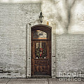 Holiday Door by Terry Rowe