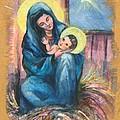 Holy Christmas No. 1  by Elisabeta Hermann