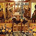 Holy Saturday at St Mary Magdalen Church 2 Print by Sarah Loft