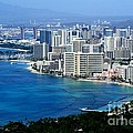 Honolulu and Waikiki from Diamond Head