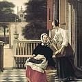 Hoock, Pieter Cornelisz 1629-1684 by Everett