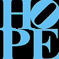 Hope 20130710 Blue Black by Wingsdomain Art and Photography