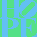 Hope 20130710 Blue Green by Wingsdomain Art and Photography