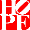 Hope 20130710 White Red by Wingsdomain Art and Photography