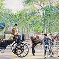 Horse And Carriage by Anthony Butera