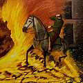 Horse On The Fire by Manuel Lopez