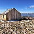 Horseshoe Mountain Mining Shack by Aaron Spong