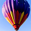 Hot Air Ballooning In Vermont by Edward Fielding