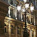 Hotel De Ville In Paris by Elena Elisseeva