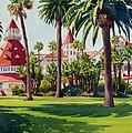 Hotel Del Coronado by Mary Helmreich