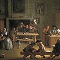 Houassemichel-ange 1680-1730. Interior by Everett