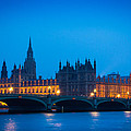 Houses Of Parliament by Inge Johnsson