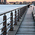 Hudson River Park Print by JC Findley