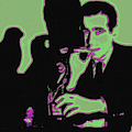 Humphrey Bogart And The Maltese Falcon 20130323 Square by Wingsdomain Art and Photography