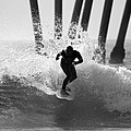 Huntington Beach Surfer by Pierre Leclerc Photography