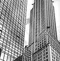 Hyatt And Chrysler by David Bearden