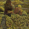 I Filari In Autunno by Guido Borelli