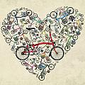 I Love My Brompton by Andy Scullion