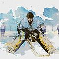 Ice Hockey by Corporate Art Task Force