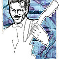 Icons- Chuck Berry by Jerrett Dornbusch