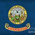 Idaho State Flag by Pixel Chimp