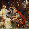 Idun And The Apples, Illustration by James Doyle Penrose