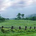 Imaginary Morning On The Blue Ridge I by Dan Carmichael