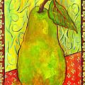 Impressionist Style Pear by Blenda Studio