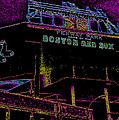 Impressionistic Fenway Park by Gary Cain