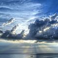 In Heaven's Light - Beach Ocean Art By Sharon Cummings by Sharon Cummings