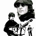 In My Life  John Lennon by Iconic Images Art Gallery David Pucciarelli