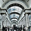 In The Louvre  by Marianna Mills