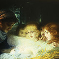 In The Manger by Hugo Havenith