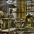 In The Ship-lift Engine Room by Heiko Koehrer-Wagner