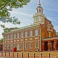 Independence Hall Philadelphia  by Tom Gari Gallery-Three-Photography