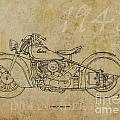 Indian Chief 1948 by Pablo Franchi