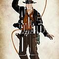 Indiana Jones Vol 2 - Harrison Ford by Ayse Deniz