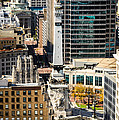 Indianapolis Aerial Picture Of Monument Circle by Paul Velgos