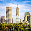 Indianapolis Skyline Picture Print by Paul Velgos