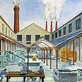 Industrial Revolution 19th C.. Factiry by Everett