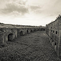Inside Fort Macomb by David Morefield