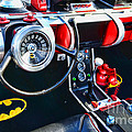 Inside the Batmobile