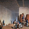 Inside The Distillery, From Ten Views by William Clark
