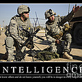 Intelligence Inspirational Quote by Stocktrek Images