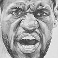 Intensity Lebron James by Tamir Barkan