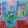 Interior A La Nice by Esther Newman-Cohen
