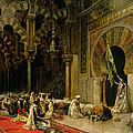 Interior Of The Mosque At Cordoba by Edwin Lord Weeks
