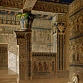Interior View Of The West Temple by Le Pere